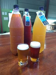 Beer Infusions from Monkey Pig Brewery